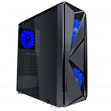 Корпус 1stPlayer F4-3A1-15LED BLUE