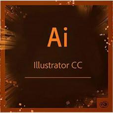 ПЗ для мультимедіа Adobe Illustrator CC teams Multiple/Multi Lang Lic Subs New 1Year (65297603BA01A12)